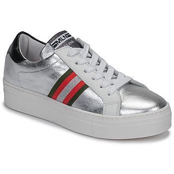 Skor Dam Sneakers Meline GETSET Silverfärgad