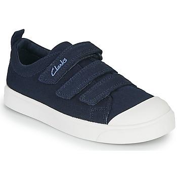Skor Barn Sneakers Clarks CITY VIBE K Marin