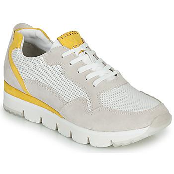 Skor Dam Sneakers Marco Tozzi 2-23754 Vit / Gul