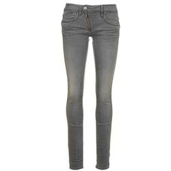 textil Dam Skinny Jeans G-Star Raw LYNN ZIP MID SKINNY Blå