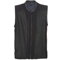 textil Dam Blusar G-Star Raw 5620 CUSTOM Svart