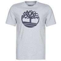 textil Herr T-shirts Timberland SS KENNEBEC RIVER BRAND TREE TEE Grå