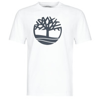 textil Herr T-shirts Timberland SS KENNEBEC RIVER BRAND TREE TEE Vit