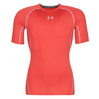 textil Herr T-shirts Under Armour UA HEATGEAR ARMOUR Röd