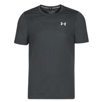 textil Herr T-shirts Under Armour SEAMLESS Svart