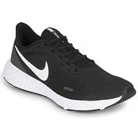 Skor Herr Träningsskor Nike REVOLUTION 5 Svart / Vit