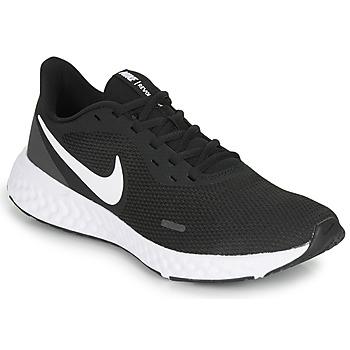 Skor Herr Löparskor Nike REVOLUTION 5 Svart / Vit