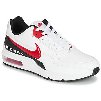 Skor Herr Sneakers Nike AIR MAX LTD 3 Vit / Svart / Röd