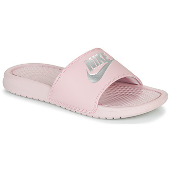 Skor Dam Flipflops Nike BENASSI JUST DO IT Rosa
