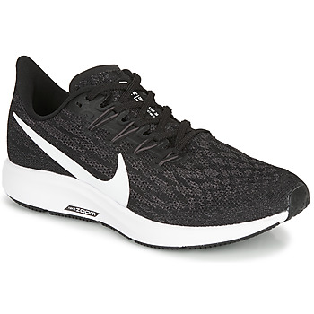 Skor Dam Löparskor Nike ZOOM PEGASUS 36 Svart / Vit