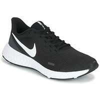 Skor Dam Träningsskor Nike REVOLUTION 5 Svart / Vit
