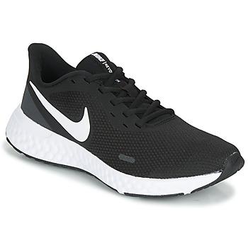 Skor Dam Löparskor Nike REVOLUTION 5 Svart / Vit