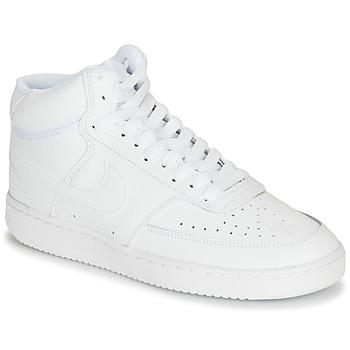 Skor Dam Höga sneakers Nike COURT VISION MID Vit