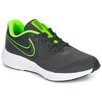 Skor Pojkar Träningsskor Nike STAR RUNNER 2 GS Svart / Grön