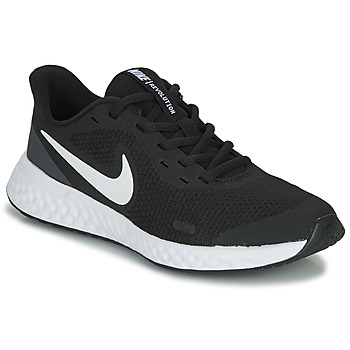 Skor Barn Sneakers Nike REVOLUTION 5 GS Svart / Vit
