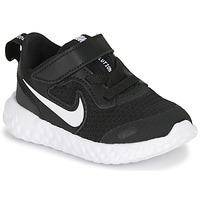 Skor Barn Träningsskor Nike REVOLUTION 5 TD Svart / Vit