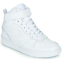 Skor Barn Höga sneakers Nike COURT BOROUGH MID 2 GS Vit