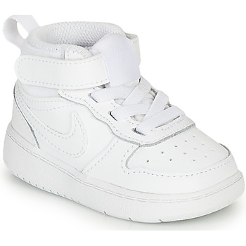 Skor Barn Höga sneakers Nike COURT BOROUGH MID 2 TD Vit