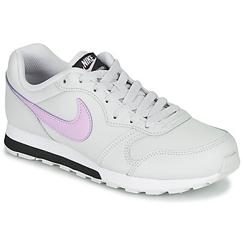 Skor Flickor Sneakers Nike MD RUNNER GS Vit / Rosa