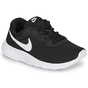 Skor Barn Sneakers Nike TANJUN PS Svart / Vit