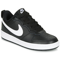 Skor Barn Sneakers Nike COURT BOROUGH LOW 2 GS Svart / Vit