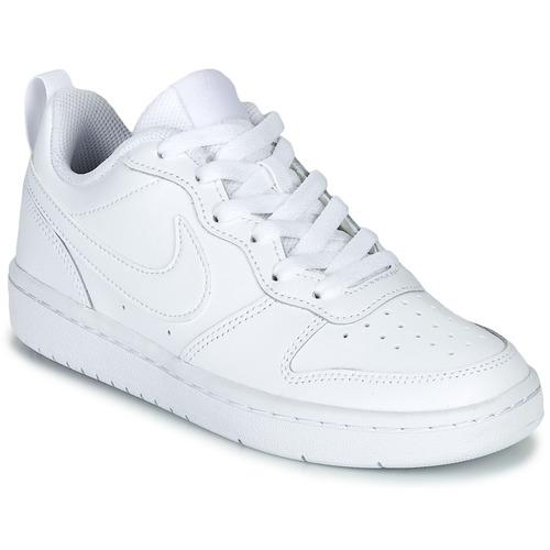 Skor Barn Sneakers Nike COURT BOROUGH LOW 2 GS Vit