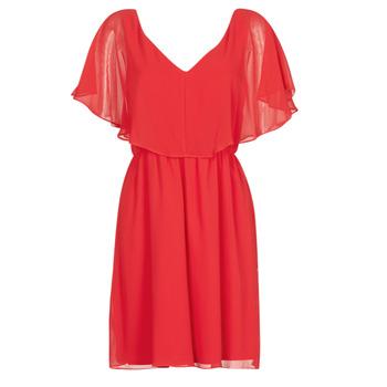 textil Dam Korta klänningar Naf Naf LAZALE Röd