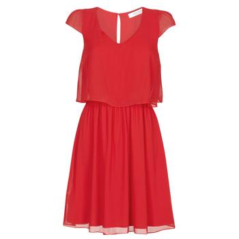 textil Dam Korta klänningar Naf Naf NEW JOEY Röd