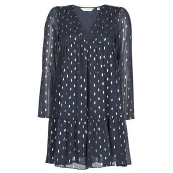 textil Dam Korta klänningar Naf Naf FOIL Marin