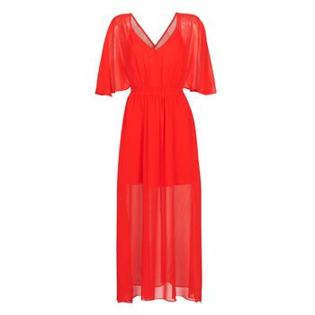 textil Dam Långklänningar Naf Naf CAMILLE R1 Röd
