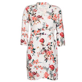 textil Dam Korta klänningar Morgan REGARD Beige