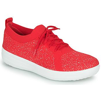 Skor Dam Sneakers FitFlop F-SPORTY UBERKNIT SNEAKERS Röd