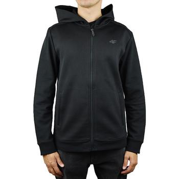 textil Herr Sweatshirts 4F Men Hoodie X4Z18-BLM201BLK