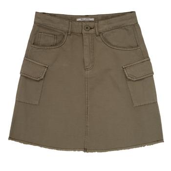 textil Flickor Kjolar Pepe jeans LUCIANA Kaki