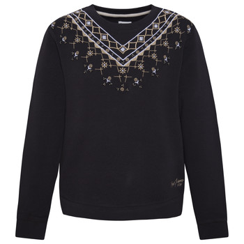textil Flickor Sweatshirts Pepe jeans EARLINE Svart