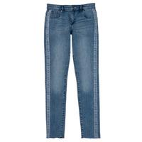 textil Flickor Skinny Jeans Guess GABIN Blå