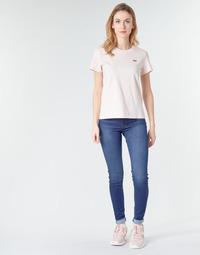 textil Dam Skinny Jeans Levi's 720 HIRISE SUPER SKINNY Echo