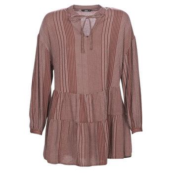 textil Dam Korta klänningar Only ONLNEW Bordeaux