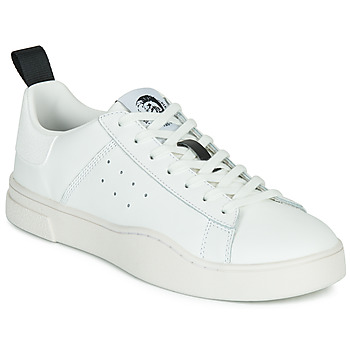 Skor Herr Sneakers Diesel S-CLEVER LOW Vit