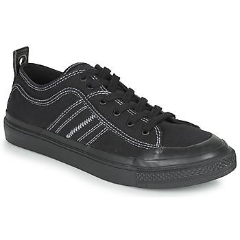 Skor Herr Sneakers Diesel S-ASTICO LOW Svart / Vit