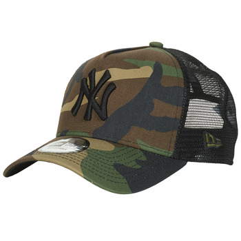 Accessoarer Keps New-Era CLEAN TRUCKER NEW YORK YANKEES Kamouflage / Kaki