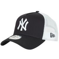 Accessoarer Keps New-Era CLEAN TRUCKER NEW YORK YANKEES Marin / Vit