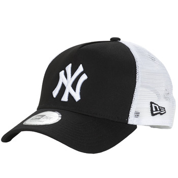 Accessoarer Keps New-Era CLEAN TRUCKER NEW YORK YANKEES Svart / Vit