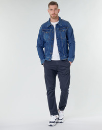 textil Herr Chinos / Carrot jeans G-Star Raw VETAR SLIM CHINO Blå