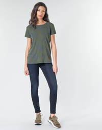 textil Dam Skinny Jeans G-Star Raw 3301 HIGH SKINNY WMN Blå