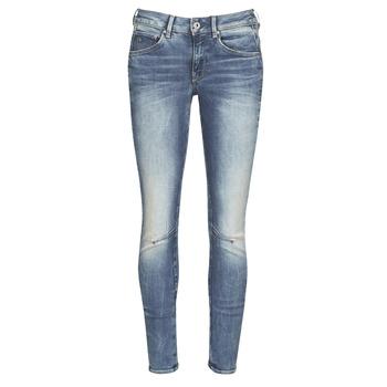 textil Dam Skinny Jeans G-Star Raw ARC 3D MID SKINNY WMN Blå
