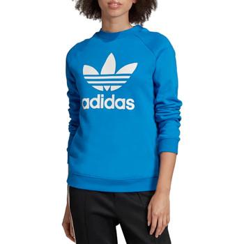 textil Dam Sweatshirts adidas Originals Trefoil Crewneck Sweatshirt  ED7582