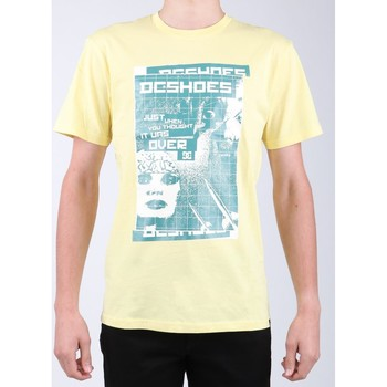 textil Herr T-shirts DC Shoes DC SEDYZT03769-YZL0 yellow