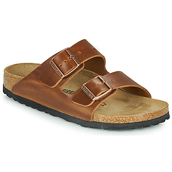 Skor Tofflor Birkenstock ARIZONA LEATHER Brun