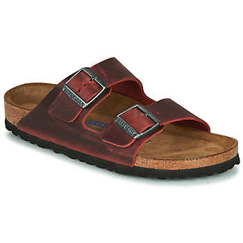 Skor Dam Tofflor Birkenstock ARIZONA SFB LEATHER Bordeaux